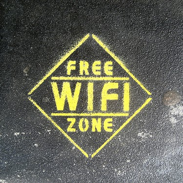 "Image: flickr / ""Free Wi-Fi Zone"" by superfem"
