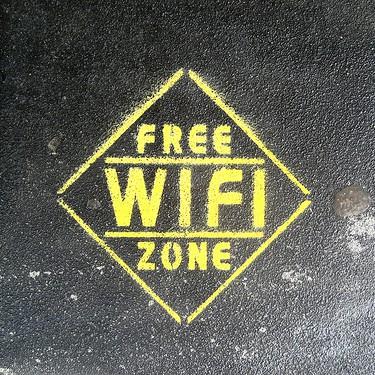 "Image: flickr / ""Free Wi-Fi Zone"" by superfem"