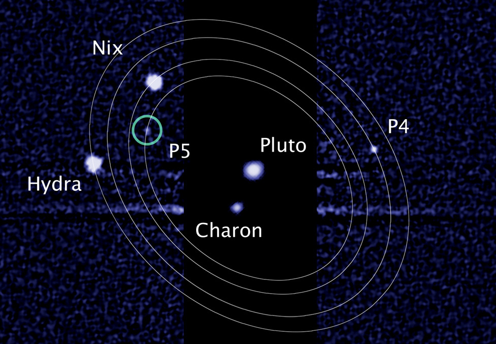 New moon discovered around pluto