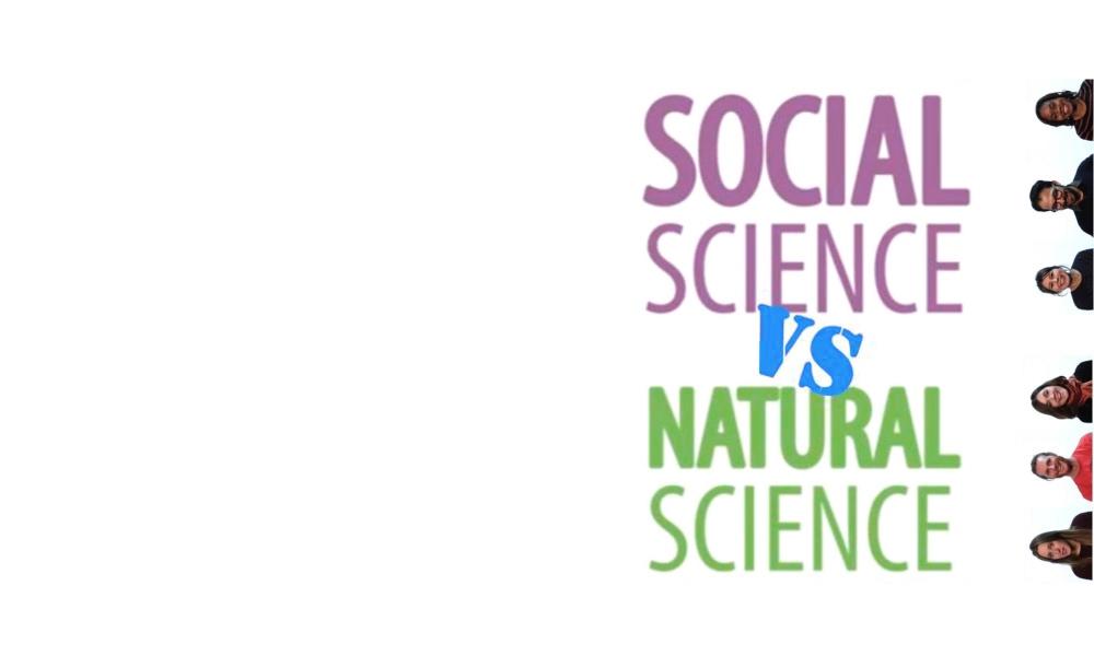 natural science vs social science
